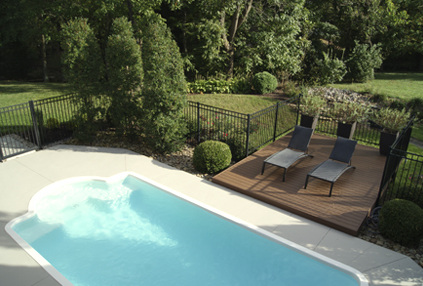 Patio Perfect Application: Non Slip Acrylic Pool Patio Paint